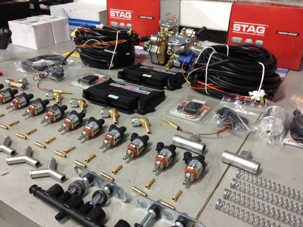 STAG QBOX PLUS W12 vahtar avtoplin audi a8