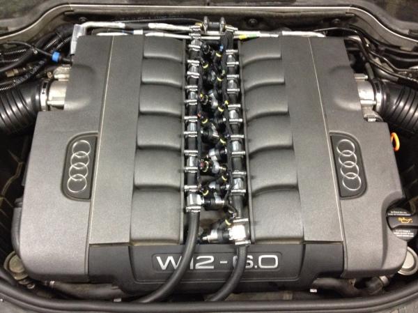 Audi 6.0 w12 lpg avtoplin vahtar