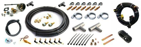 objemke, fiting, faro cevi, cevi za vodo, avtoplin šobe, t-kos, vezice, tipalo temperature